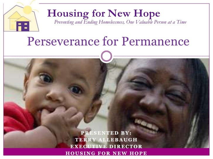 5.6 Beyond HPRP: Sustaining Rapid Re-Housing and Prevention Programs