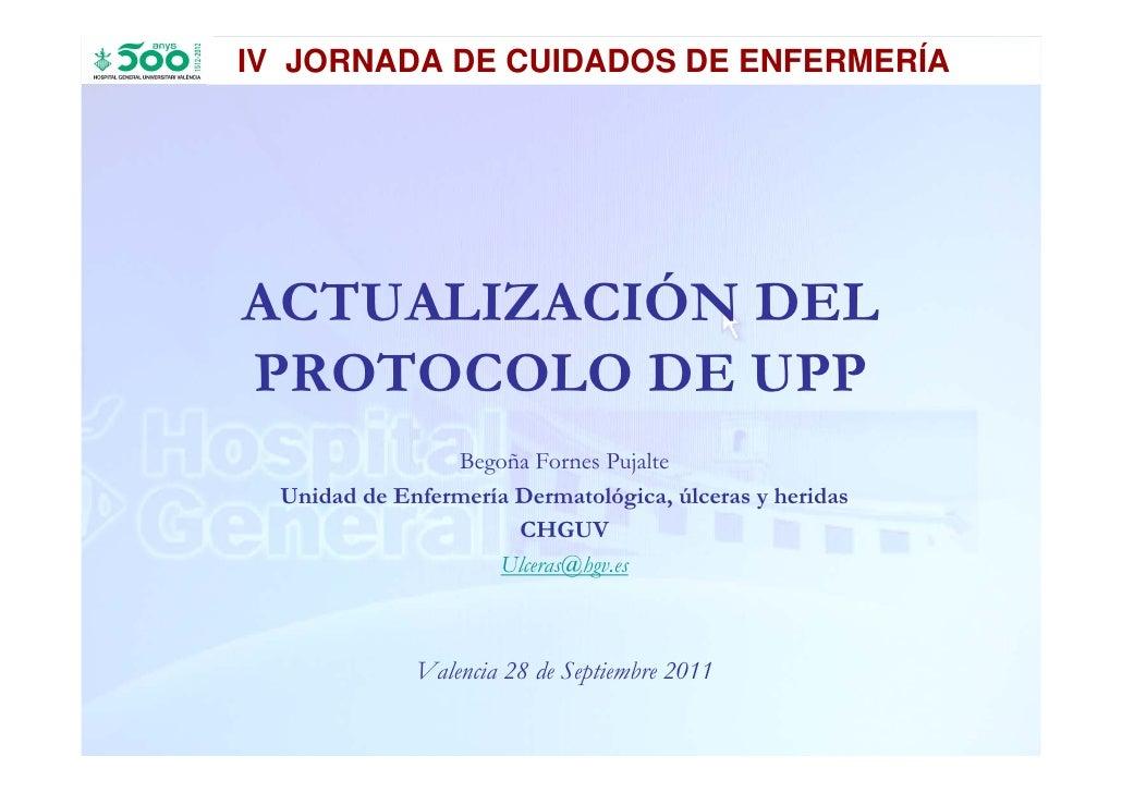 IV JORNADA DE CUIDADOS DE ENFERMERÍA   IV JORNADA DE CUIDADOS DE ENFERMERÍA                                       ACTUALIZ...