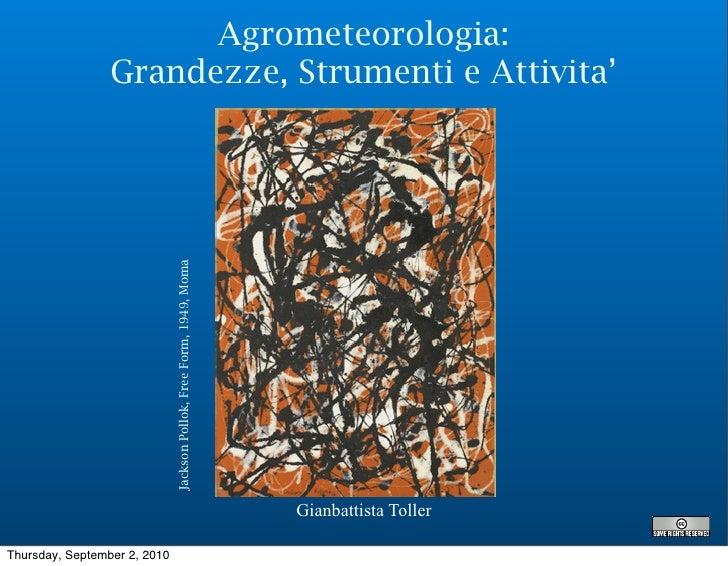 5   agrometeorologia grandezze-strumenti_attivita