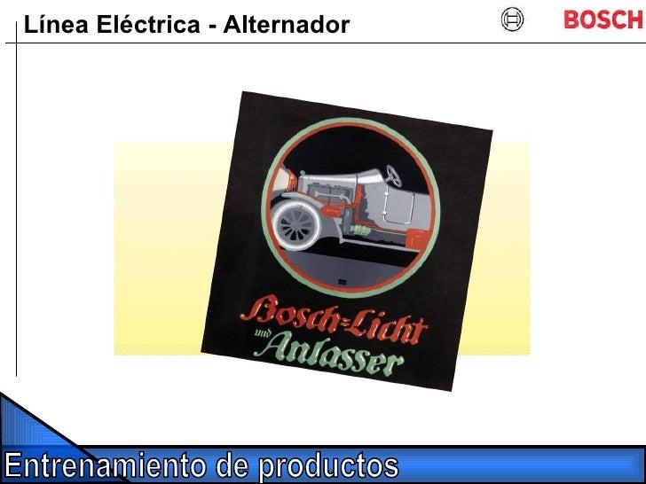 Línea Eléctrica - Alternador
