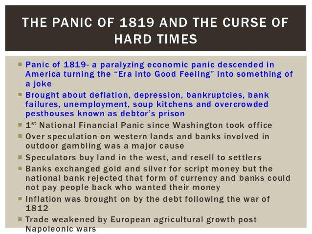 Panic of 1819 bank