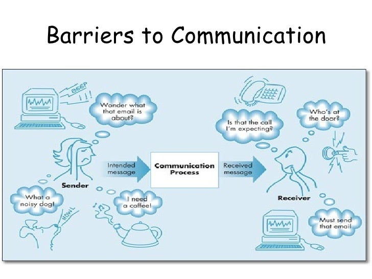environmental barriers if listening When it works well, communication helps establish trusting relationships,  we  also need to be aware of the things that can cause bad communication – in other  words, communication barriers  speak slowly, listen carefully.
