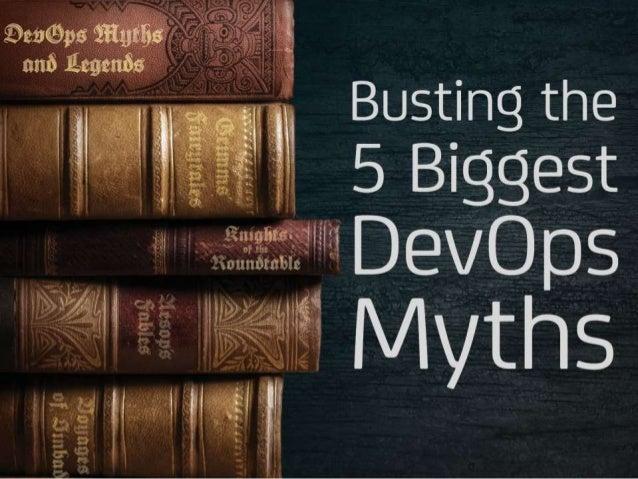 Busting the Five Biggest DevOps Myths
