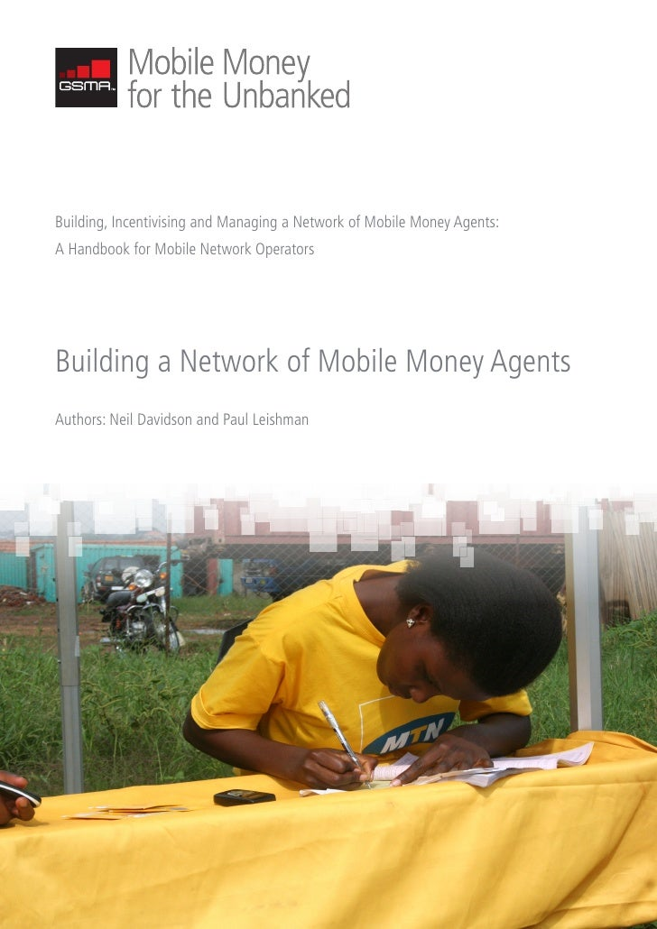 building a network of mobile money agents