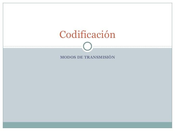 5. codificación resumida