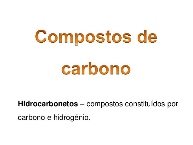5 compostos-carbono
