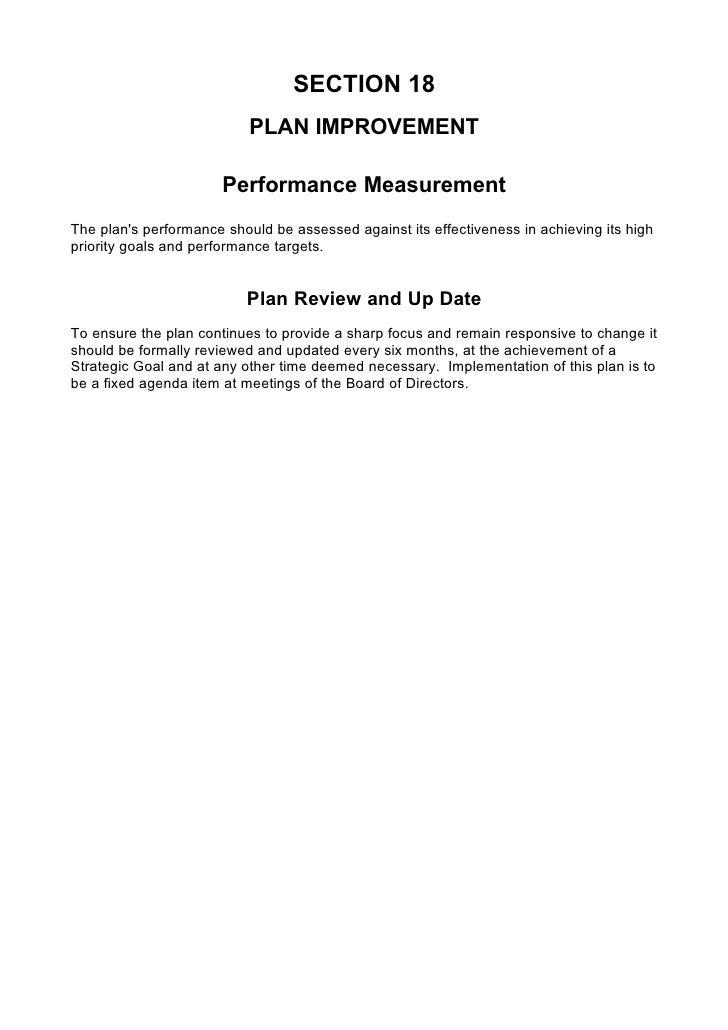 comprehensive business plans