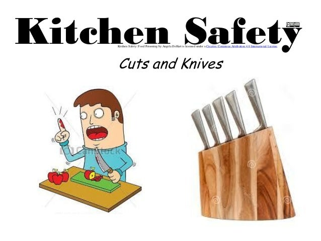 5 cutsand knives for 5 kitchen safety hazards