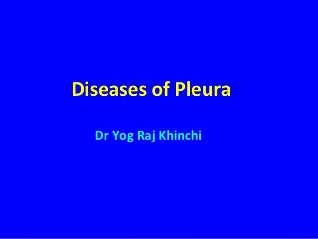 5 diseases of pleura