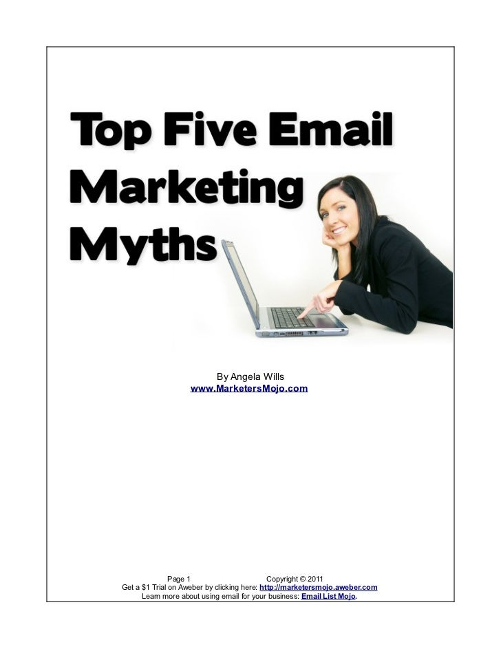 5 Email Marketing Myths