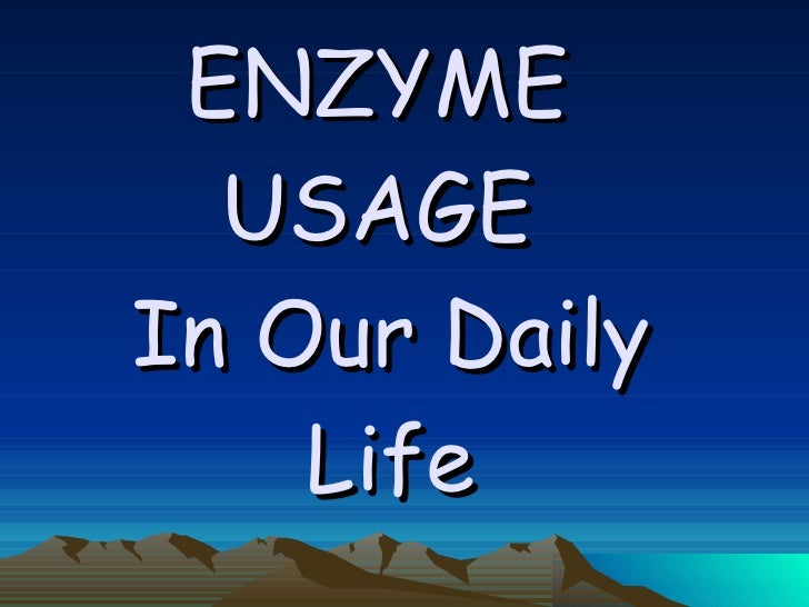 Enzymes: principles and biotechnological applications