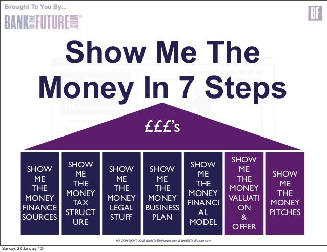 Brought To You By...                   Show Me The                  Money In 7 Steps                                      ...