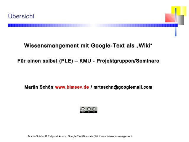 5 google-doc-wiki-wissensmanagement
