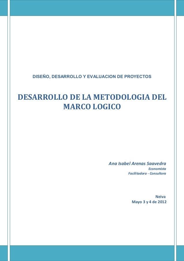 5. guia lineamientos marco logico  neiva-mayo 3y4-2012