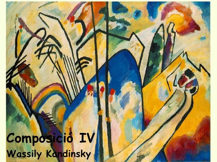 Composició IV Wassily Kandinsky