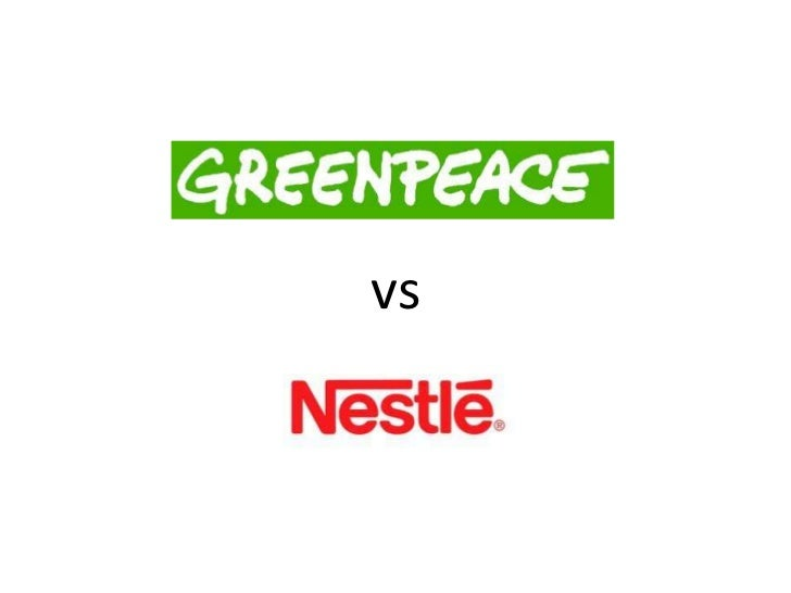 Greenpeace vs Nestle