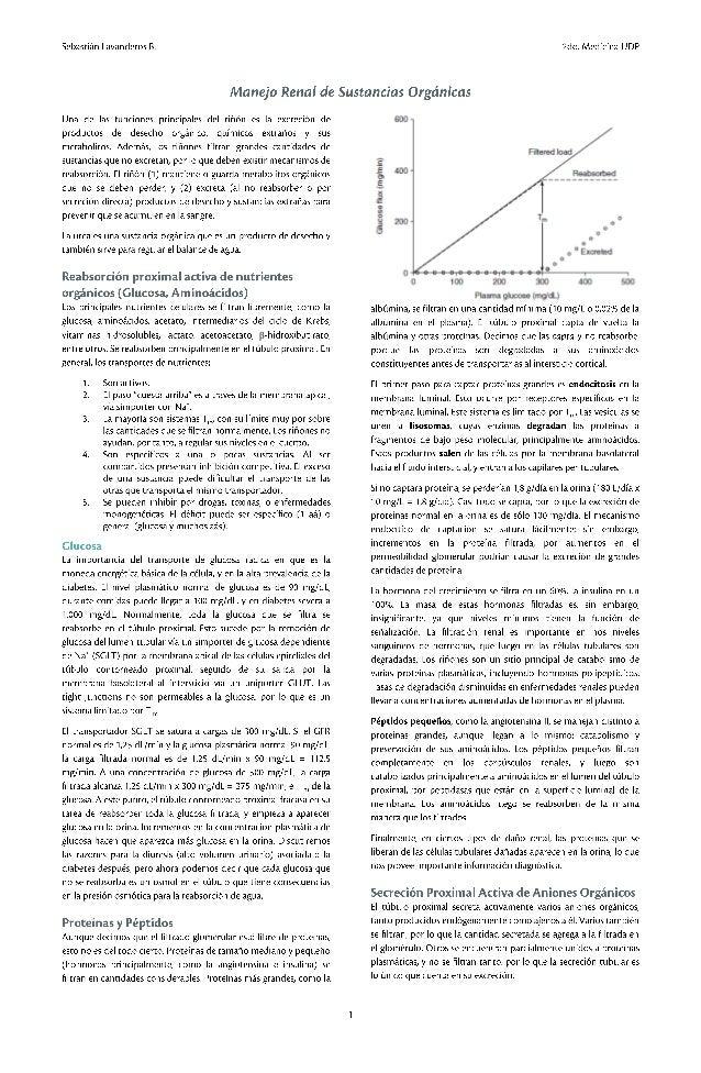 5. manejo renal de sustancias orgánicas