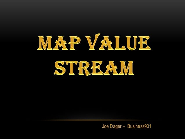 Mapping the Value Stream in Lean Marketing