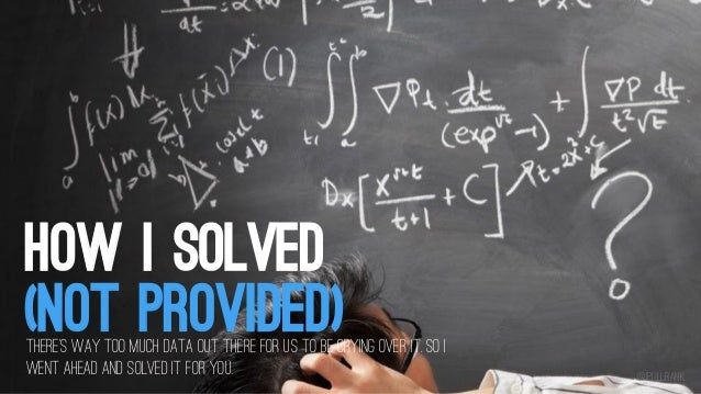 Mike King - How I Solved (Not-provided)