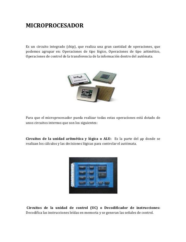 5. microprocesador