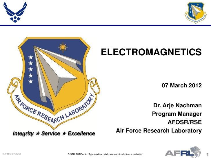 ELECTROMAGNETICS                                                                                                        07...
