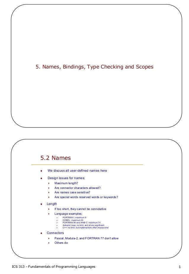 5 names