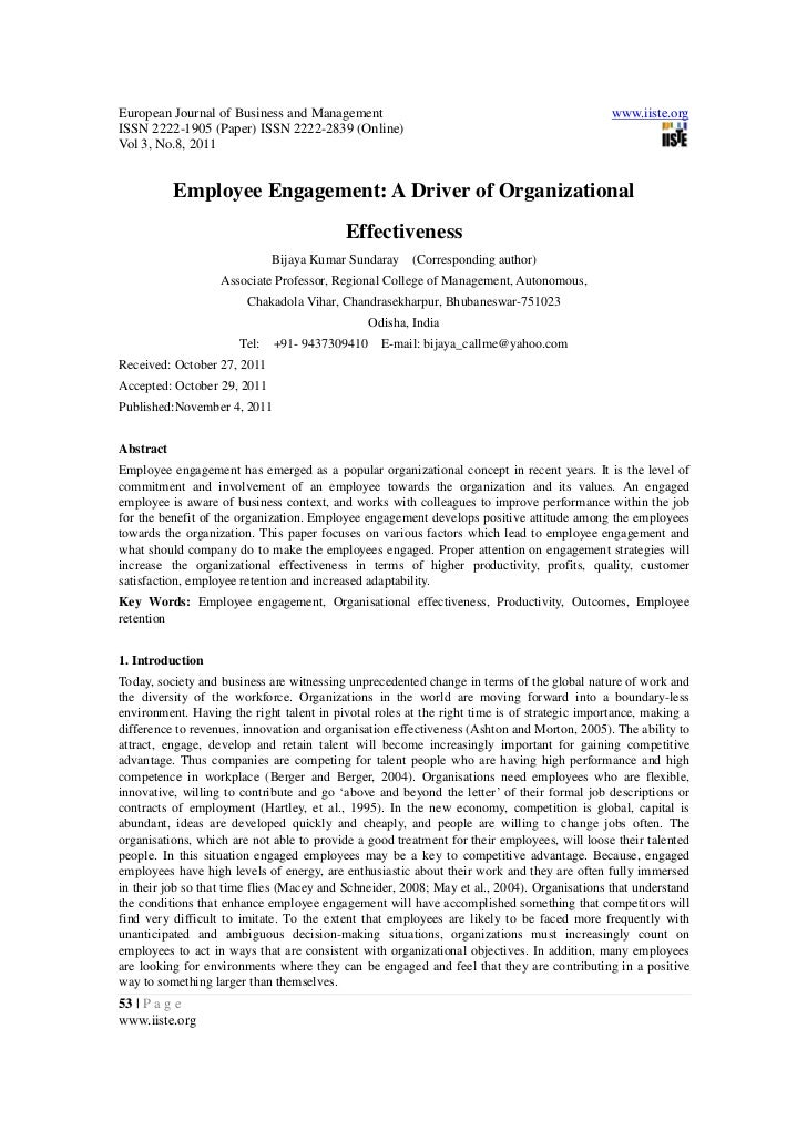 European Journal of Business and Management                                                  www.iiste.orgISSN 2222-1905 (...