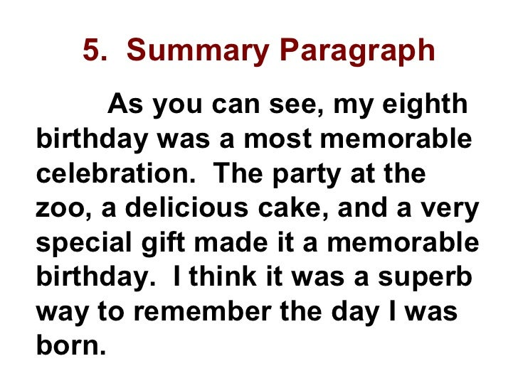 short essay on my birthday gift