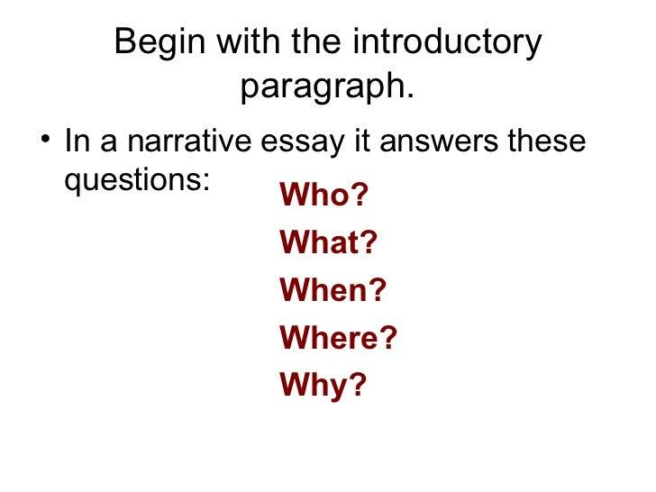 4 paragraph essay