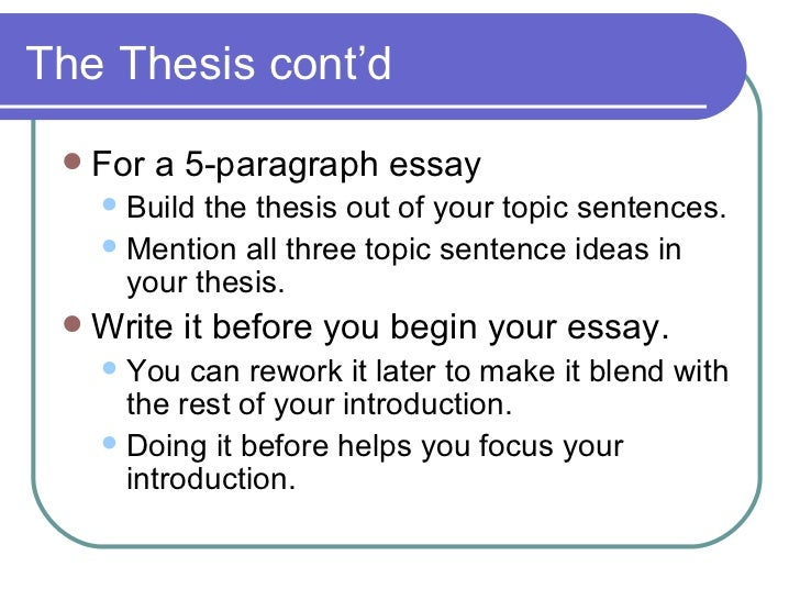 5 paragraph essay for 6th graders