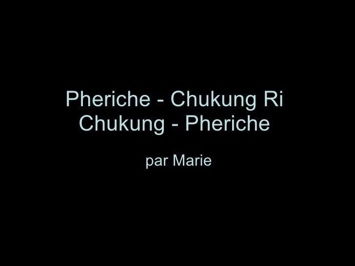 Pheriche - Chukung Ri  Chukung - Pheriche   par Marie