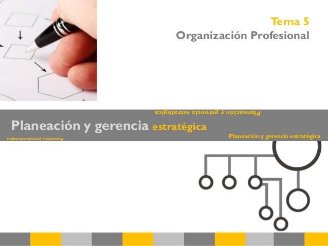 Planeación y gerencia estratégica Planeaciónygerenciaestratégica Planeaciónygerenciaestratégica Planeación y gerencia estr...