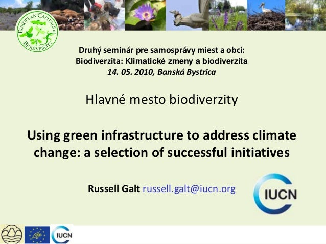 Using green infrastructure to address Global Warming