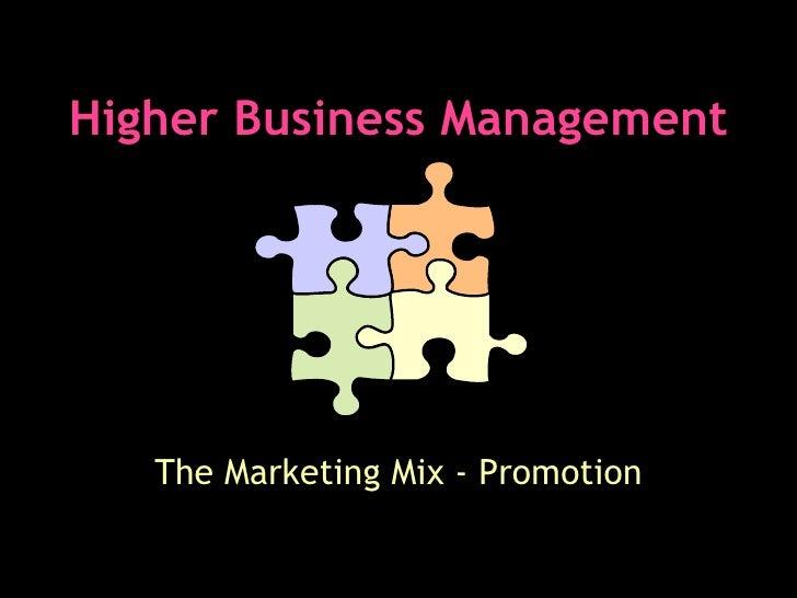 Promotion Slides