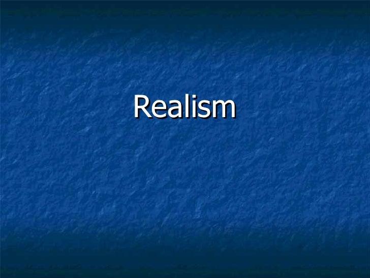 5 realism