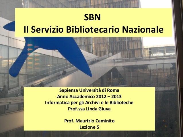 5. SBN