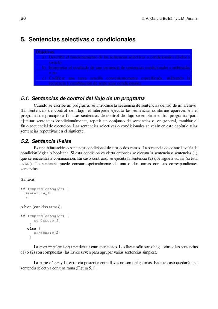 60                                                                       A. García-Beltrán y J.M. Arranz5. Sentencias sel...