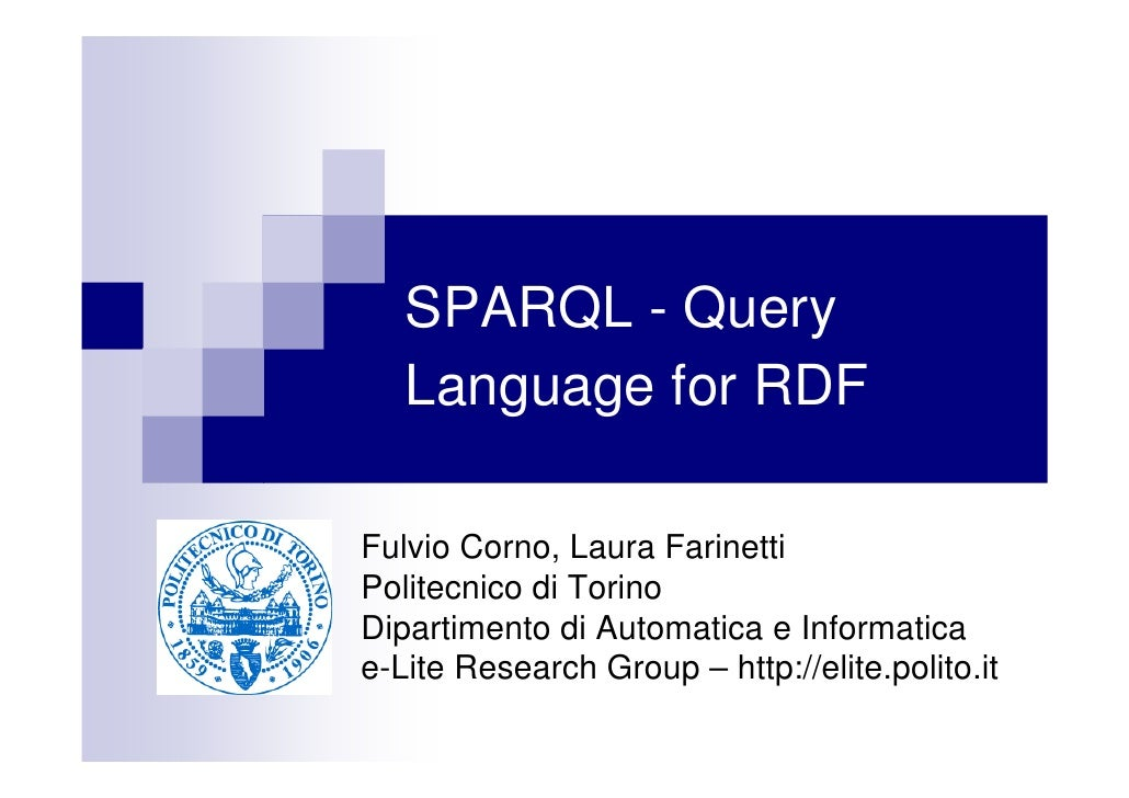 SPARQL and the Open Linked Data initiative