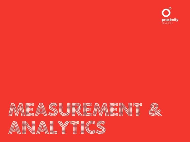 SIMON PEARCEMeasurement &DIGITAL STRATEGYAnalytics