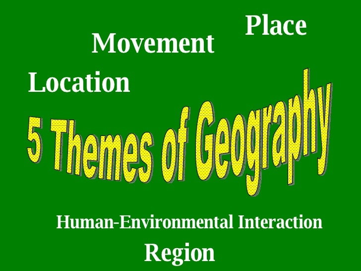 5 themes of geography Location: relative- germany is located in the eastern and norther hemisphere it is bordered by the north sea, denmark, poland, france, austria, czech republic, belgium, and luxembourg.