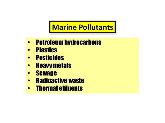 an introduction to the major source of coastal pollutants human sewage Prevention of pollution by sewage pollution in coastal areas - a major problem for countries with tourist industries the main sources of human-produced sewage.
