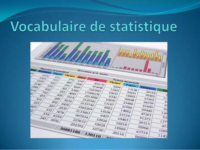 On appelle population statistique l'ensembles des individussur lesquels porte l'étude statistiqueQuelle est la population ...