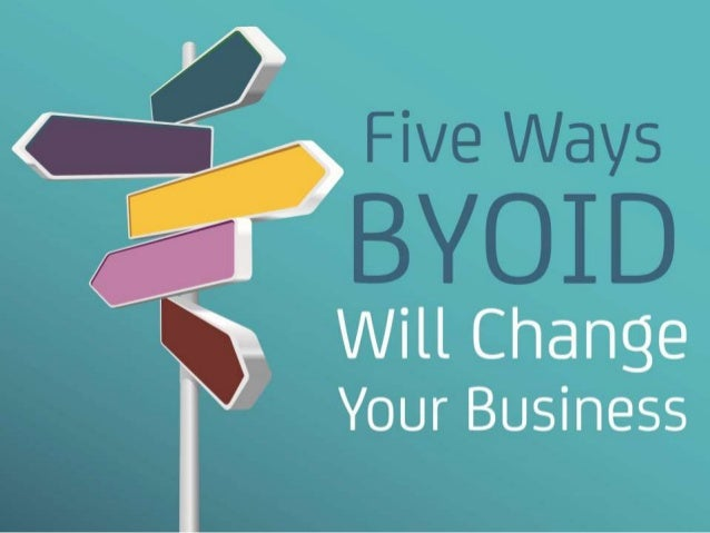 Five Ways BYOID Will Change Your Business