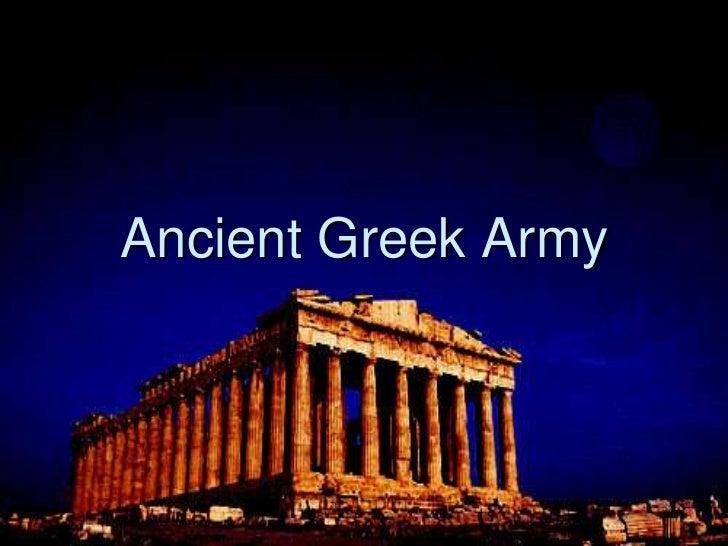 Ancient Greek Army<br />