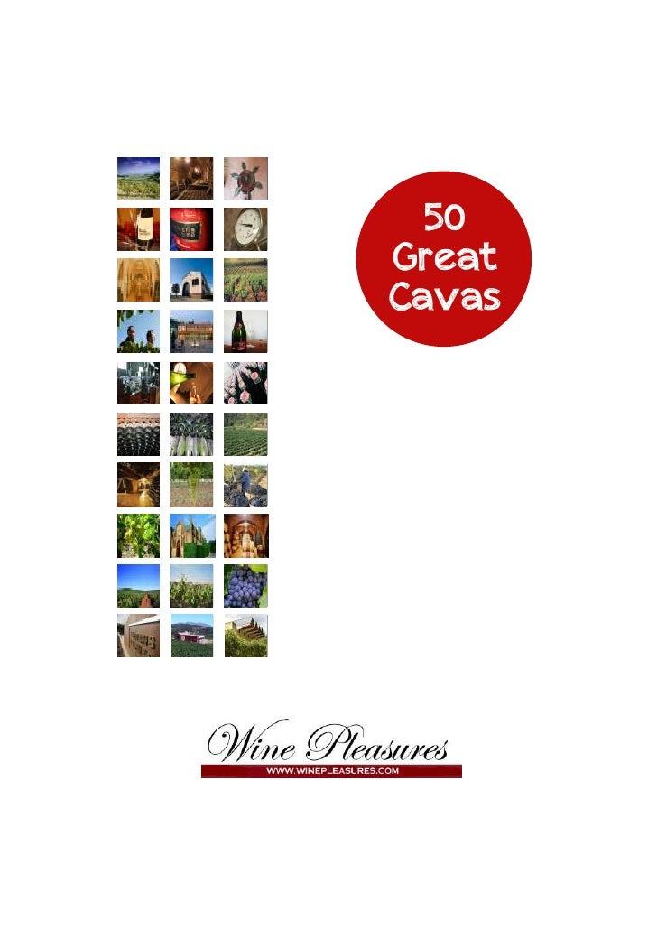 50 great-cavas by Winepleasures