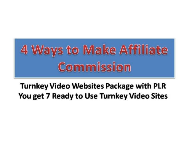 Turnkey Video Websites Package with PLRYou get 7 Ready to Use Turnkey Video Sites