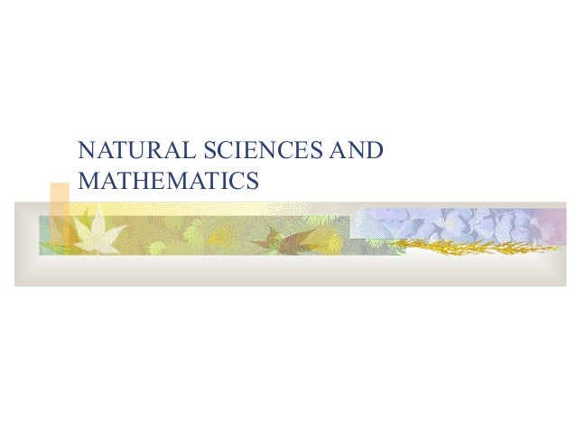 500   natural sciences