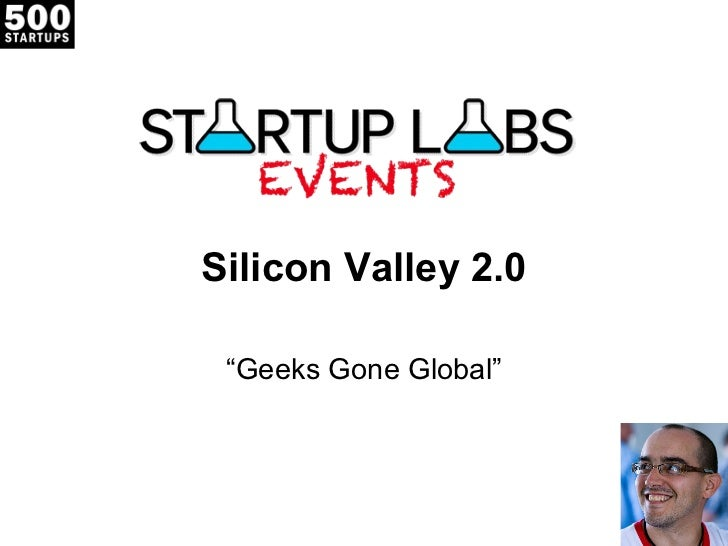 Silicon Valley 2.0 @ Startup Labs Istanbul