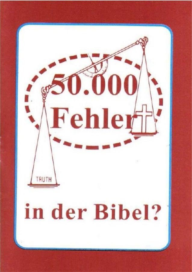 50.000 Fehler in der Bibel (Ein Gespräch mit den Zeugen Jehovas)