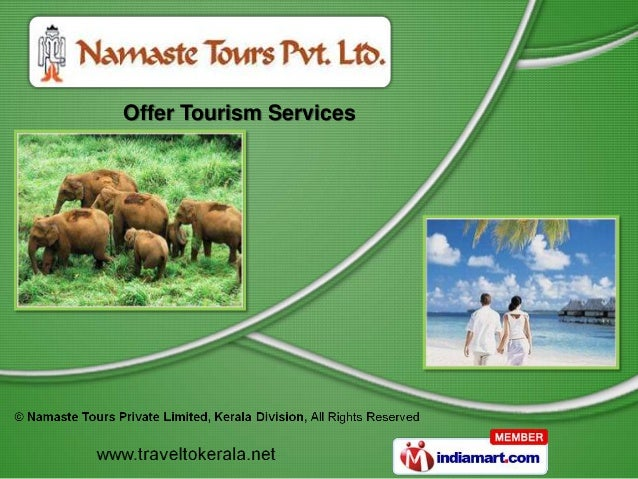 Offer Tourism Services